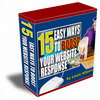 Thumbnail Best Easy Ways To Boost Your Website Plus Resell Right