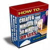 Thumbnail Create MiniSite In 30 Minutes Or Less Plus Resell Right