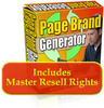 Page Brand Generator With Resale Right