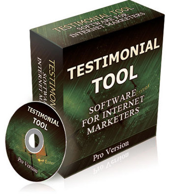 Product picture Testimonial Tool With Resale Right
