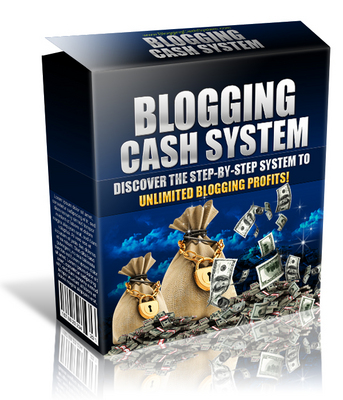 Product picture Blogging Cash System With Private Label Right