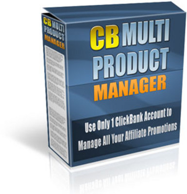Product picture ClickBank Multi Product Manager With Master Resale Right