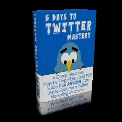 Product picture Twitter Mastery 5 Days Course With Master Resale Right